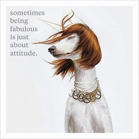 Sometimes Being Fabulous Is Just About Attitude